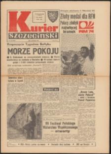 Kurier Szczeciński. 1974 nr 158 wyd. AB