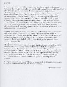 Pamiętnik Wiktorii Sadowskiej z d. Szofer: Dzieje mojej rodziny. Cz. II
