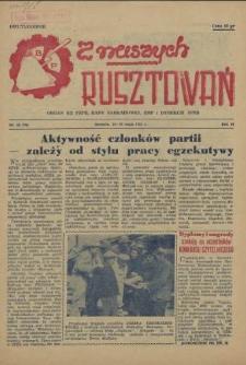 Z Naszych Rusztowań. R.2, 1955 nr 10