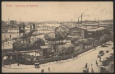 Stettin - Panorama am Bahnhof