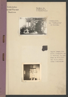Kronika fotograficzna parafii św. Antoniego w Dębnie 1907-1941