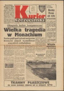 Kurier Szczeciński. 1972 nr 210 wyd. AB