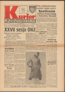 Kurier Szczeciński. 1972 nr 222 wyd. AB