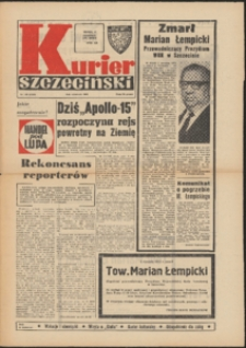 Kurier Szczeciński. 1971 nr 180 wyd. AB