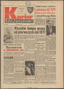 Kurier Szczeciński. 1977 nr 1 wyd.AB