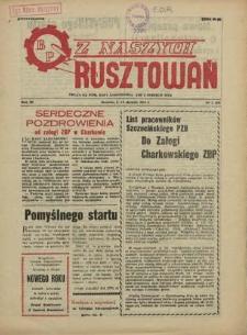 Z Naszych Rusztowań. R.3, 1956 nr 1