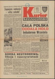 Kurier Szczeciński. 1977 nr 198 wyd. AB