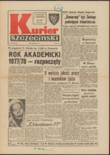 Kurier Szczeciński. 1977 nr 223 wyd. AB