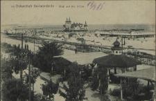 Ostseebad Swinemünde, Blick auf die Bäder