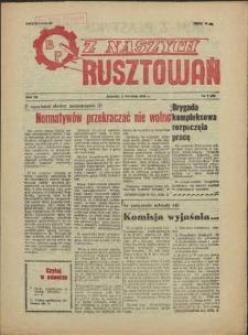 Z Naszych Rusztowań. R.3, 1956 nr 7