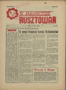 Z Naszych Rusztowań. R.3, 1956 nr 8