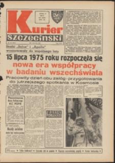 Kurier Szczeciński. 1975 nr 155 wyd.AB