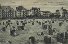 Seebad Swinemünde, Admiral, Ostsee-Hotel, Senta, Hohenzollern