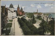 Stettin, Blick auf die Hakenterrasse
