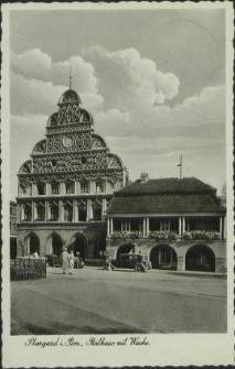 Stargard in Pommern, Rathaus mit Wache