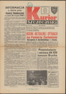 Kurier Szczeciński. 1980 nr 186 wyd.AB