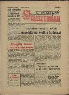 Z Naszych Rusztowań. R.3, 1956 nr 18