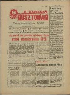 Z Naszych Rusztowań. R.3, 1956 nr 19