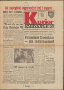Kurier Szczeciński. 1981 nr 20 wyd.AB