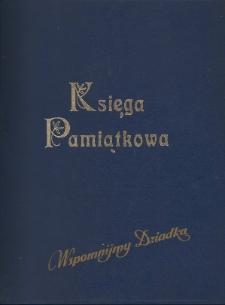 Księga pamiątkowa poświęcona Andrzejowi i Rozalii Kostańskim