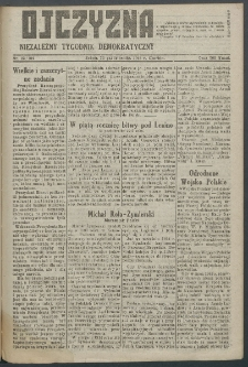 Ojczyzna : niezależny tygodnik demokratyczny. 1948 nr 104