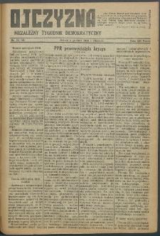 Ojczyzna : niezależny tygodnik demokratyczny. 1948 nr 109