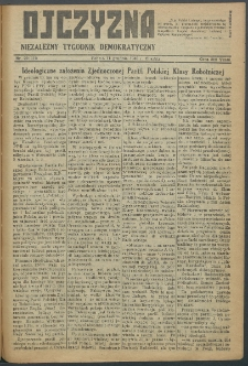 Ojczyzna : niezależny tygodnik demokratyczny. 1948 nr 110