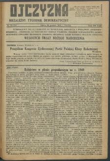 Ojczyzna : niezależny tygodnik demokratyczny. 1949 nr 113