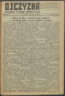 Ojczyzna : niezależny tygodnik demokratyczny. 1949 nr 118