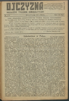 Ojczyzna : niezależny tygodnik demokratyczny. 1949 nr 119