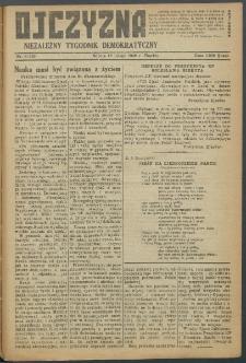 Ojczyzna : niezależny tygodnik demokratyczny. 1949 nr 120