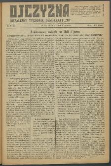 Ojczyzna : niezależny tygodnik demokratyczny. 1949 nr 121