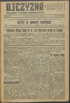 Ojczyzna : niezależny tygodnik demokratyczny. 1949 nr 125