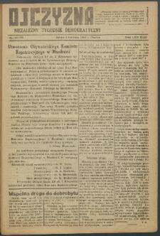 Ojczyzna : niezależny tygodnik demokratyczny. 1949 nr 126