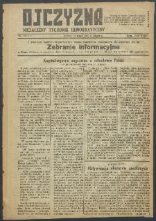 Ojczyzna : niezależny tygodnik demokratyczny. 1949 nr 132