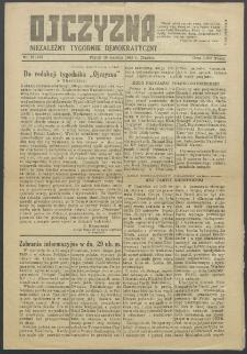 Ojczyzna : niezależny tygodnik demokratyczny. 1949 nr 135