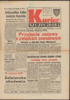 Kurier Szczeciński. 1982 nr 188 wyd.AB