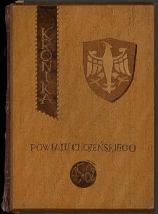 Kronika powiatu chojeńskiego 1945-1962