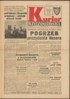 Kurier Szczeciński. 1970 nr 230 wyd.AB