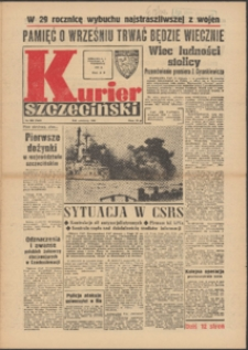 Kurier Szczeciński. 1968 nr 205 wyd.AB