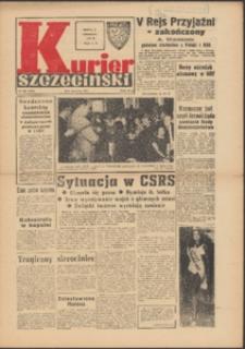 Kurier Szczeciński. 1968 nr 208 wyd.AB