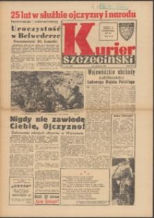 Kurier Szczeciński. 1968 nr 240 wyd.AB + dod. Kurier Żołnierski