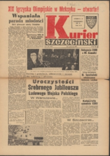 Kurier Szczeciński. 1968 nr 241 wyd.AB