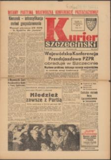Kurier Szczeciński. 1968 nr 246 wyd.AB + dod. Wojewódzka Konferencja Przedzjazdowa PZPR