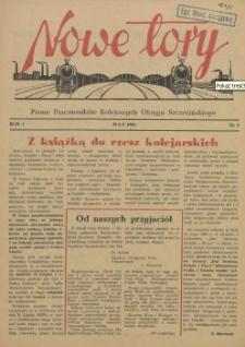 Nowe Tory : pismo pracowników DOKP w Szczecinie. R.1, 1954 nr 4
