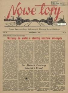 Nowe Tory : pismo pracowników DOKP w Szczecinie. R.1, 1954 nr 5