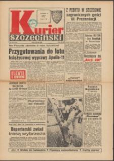 Kurier Szczeciński. 1969 nr 163 wyd.AB