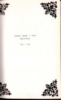 Kronika Miasta i Gminy. Tom 1. Międzyzdroje. 1945 - 1992