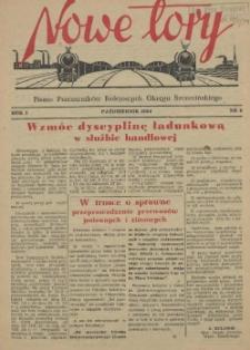 Nowe Tory : pismo pracowników DOKP w Szczecinie. R.1, 1954 nr 9