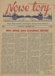 Nowe Tory : pismo pracowników DOKP w Szczecinie. R.1, 1954 nr 10